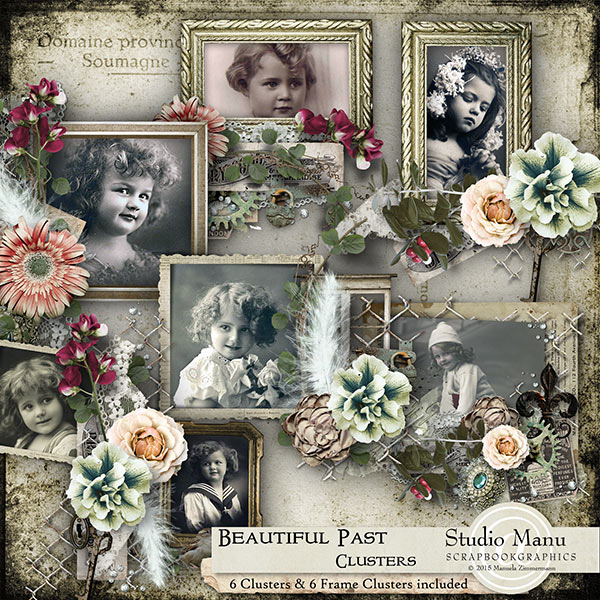 Beautiful Past Cluster Frames