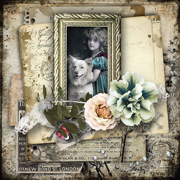 Inspiration Scrapbook Page