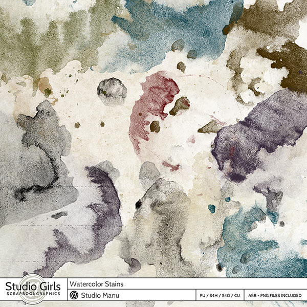 Watercolor Stain Brushes