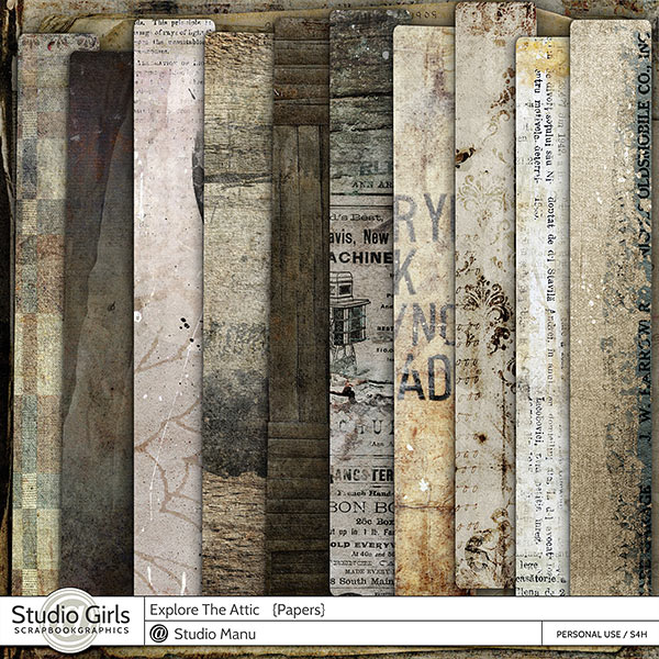 Explore The Attic - Papers