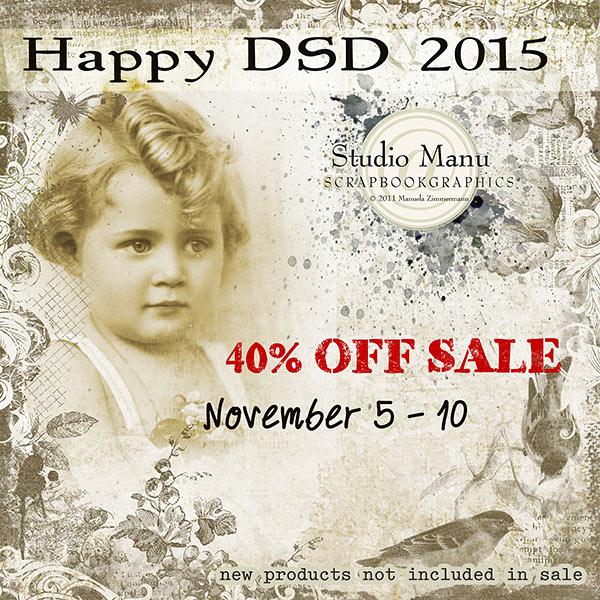 Digital Scrapbook Day 2015 Sale