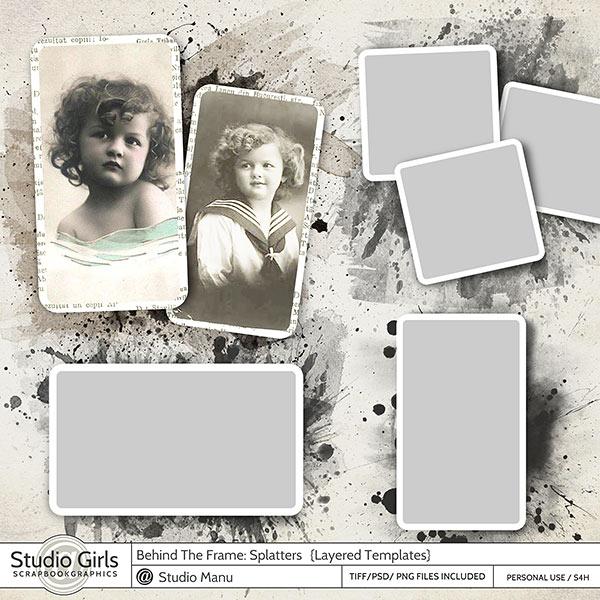 Behind The Frame: Splatters