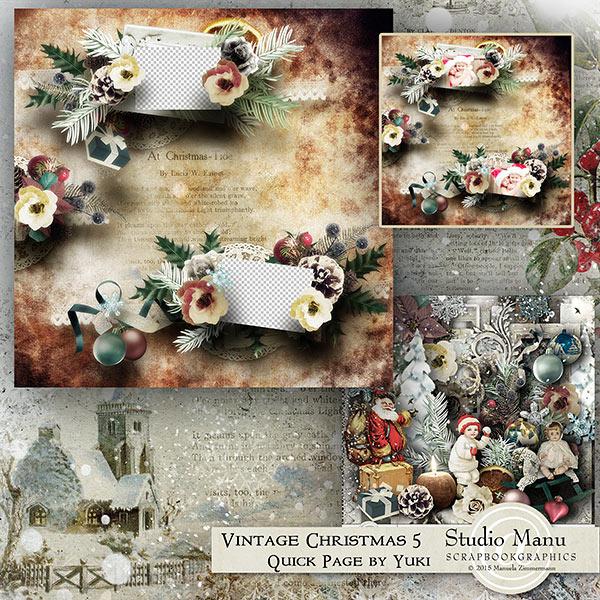 Christmas Quick Page Freebie