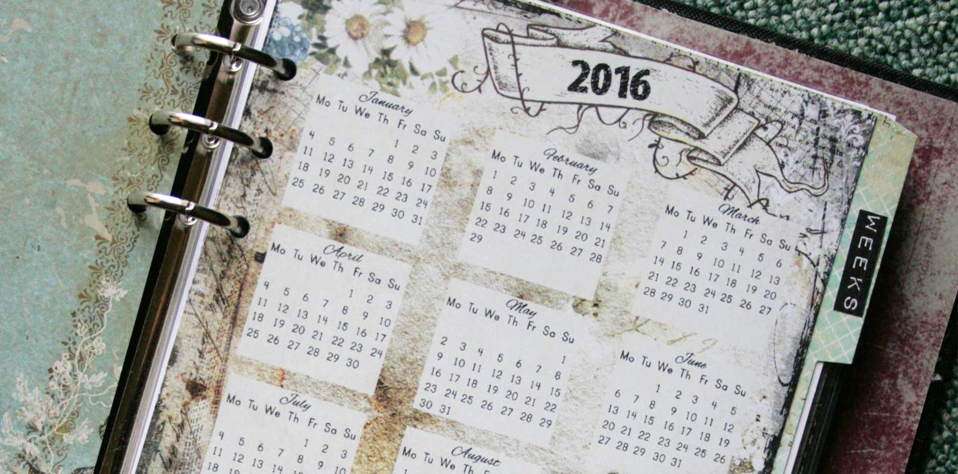 Creative Planner Pages