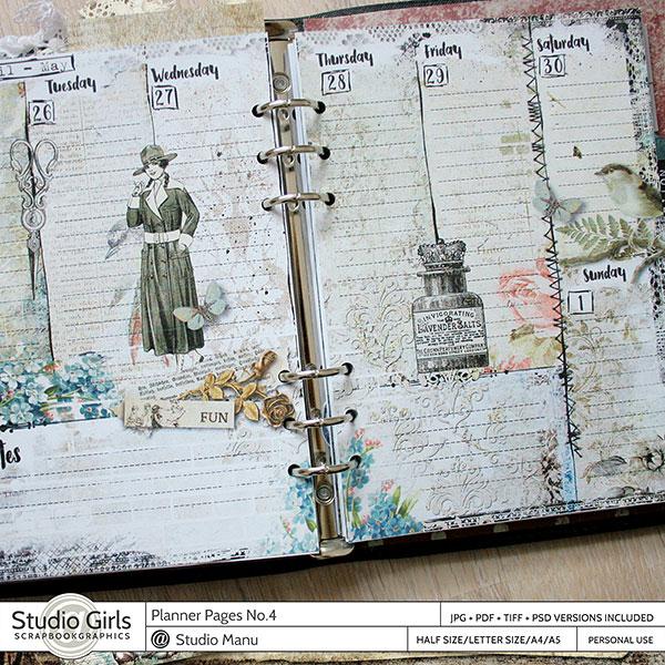 Planner Pages Week 1