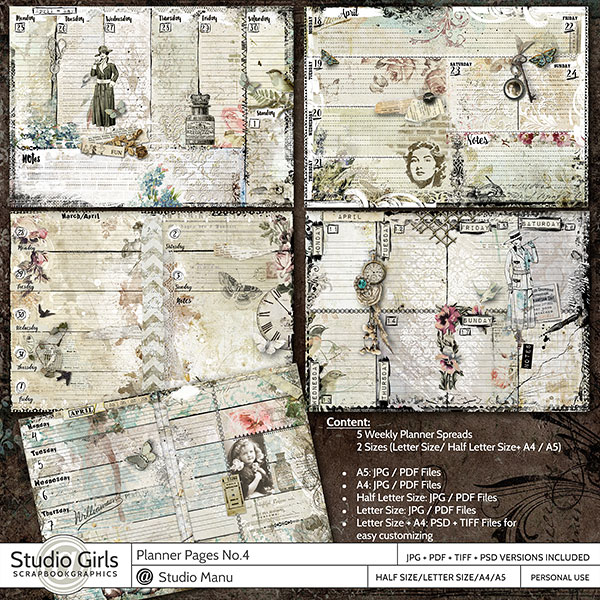 Planner Pages No.4