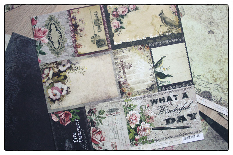 Paper Collection Blue Fern Studios Timeless