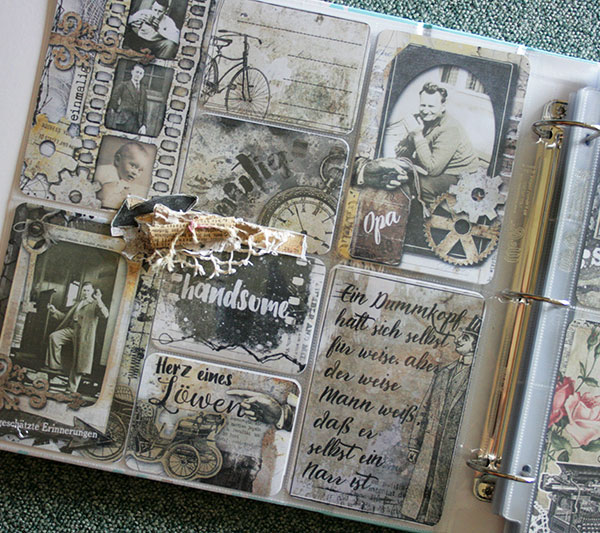 Pocket Page Project Life Heart Of A Lion