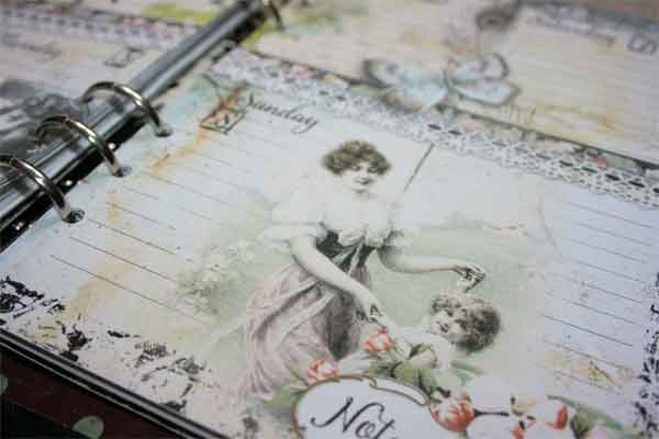 Vintage Printable Planner