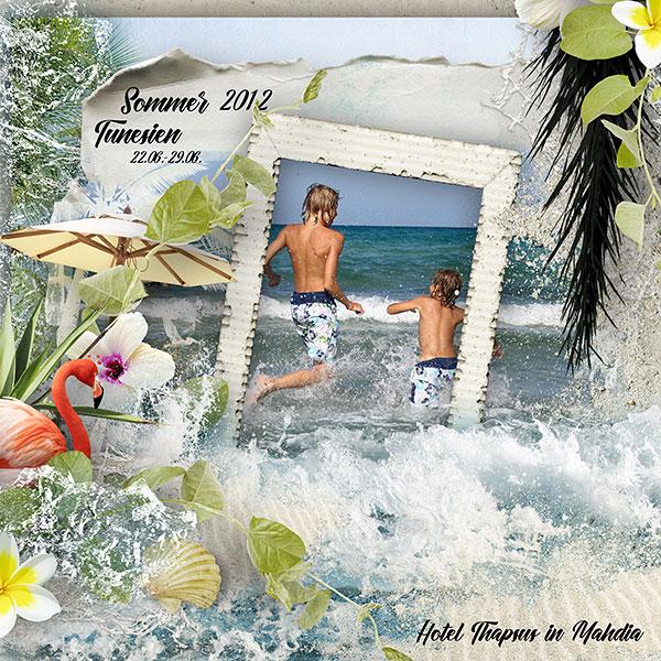 Summer Inspiration Layout