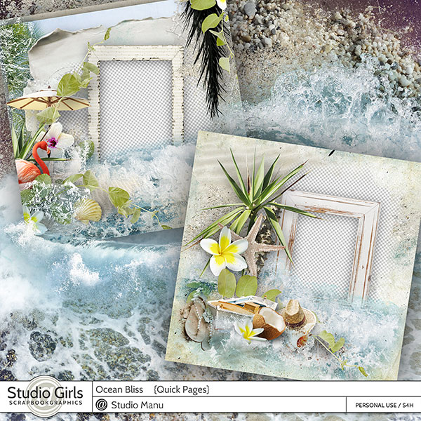 Ocean Bliss Summer Quick Pages