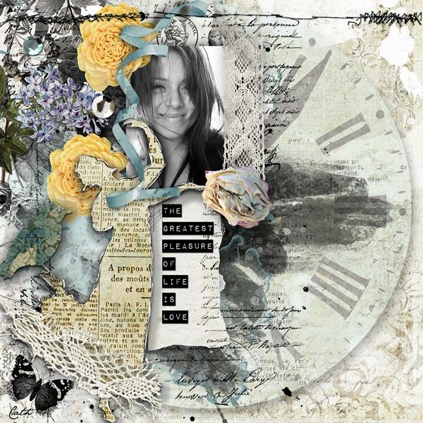 Scrapbooking Inspiration layout
