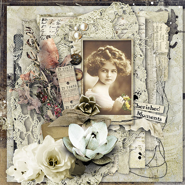 Vintage Lace Inspiration Page