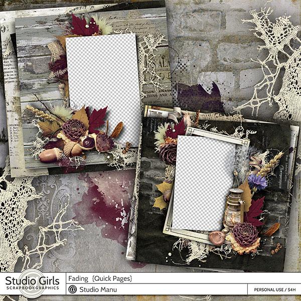 Fading - Vintage Autumn Quick Pages