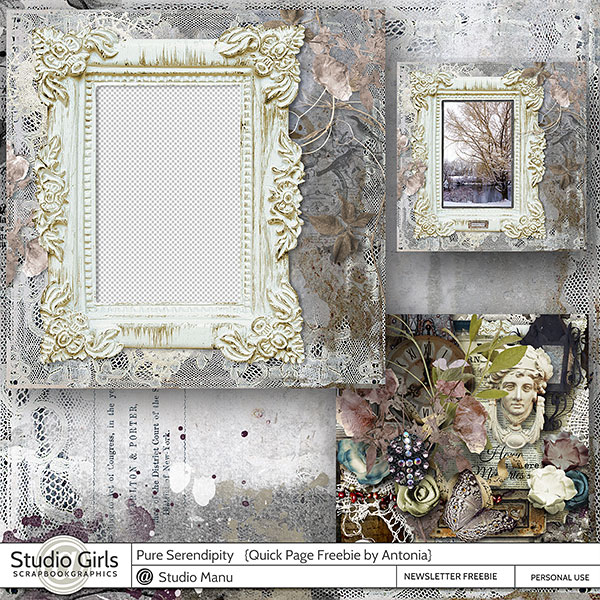 Freebie Quick Page by Antonia