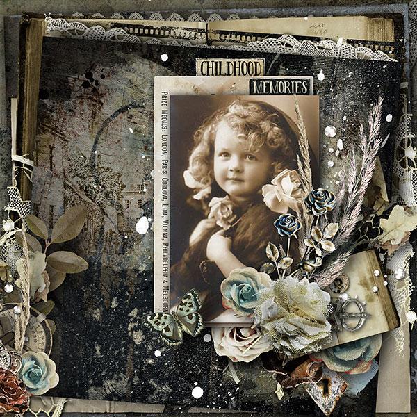 Vintage Scrapbook Inspiration