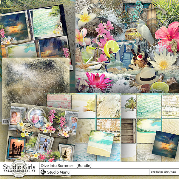 Summer Scrapbook Collection
