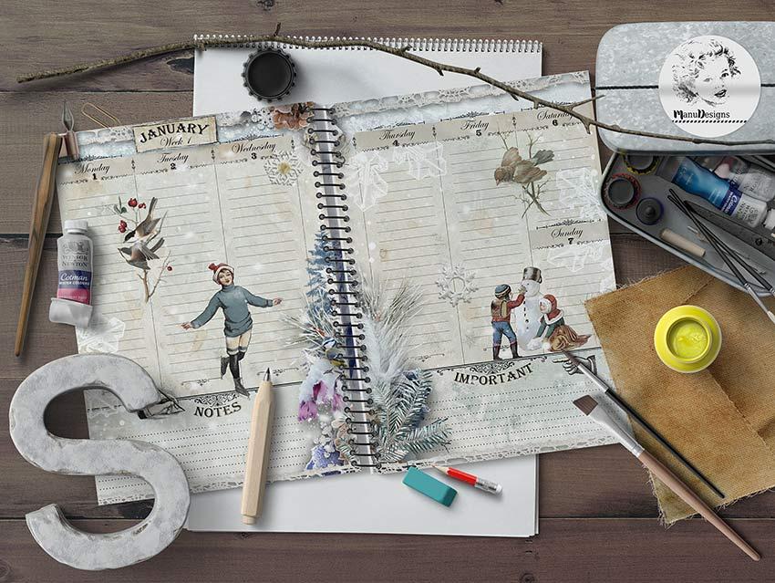 Creative Planner Inserts 2018
