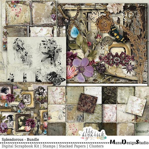 Digital Scrapbooking Splendorous Collection