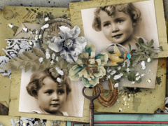 Immortality - Vintage Scrapbook Collection
