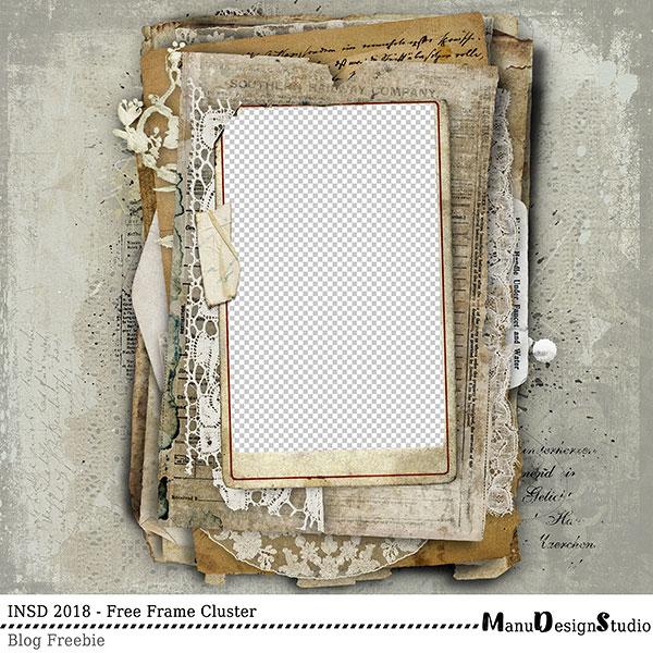 Frame Cluster Freebie Manu Design Studio
