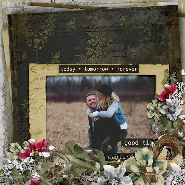 Inspiration Scrapbook Layouts