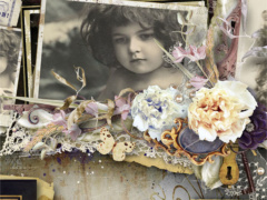 Ancient Charm - Vintage Scrapbook Kit