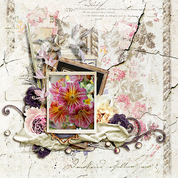 Scrapbook Inspiration Layout