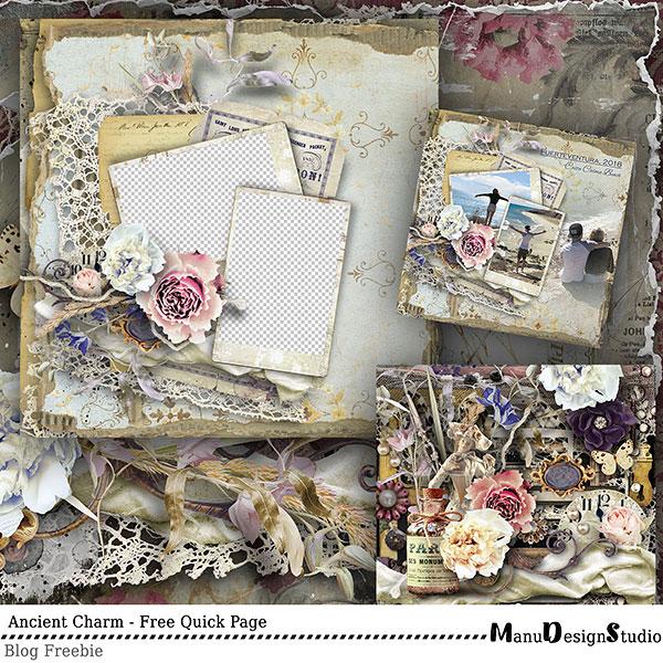 scrapbook Quick Page Freebie