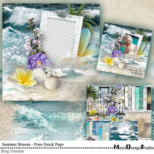 Summer Free Quick Page