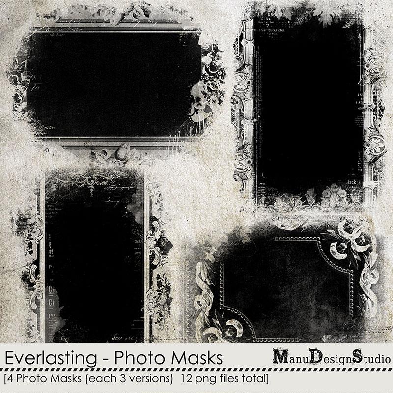 Everlasting Vintage Photo Masks