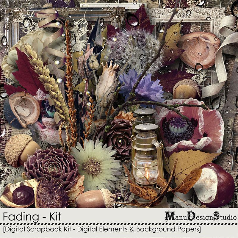 scrapbook autumn kit