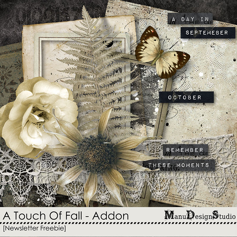Fall / Autumn Mini Kit - Scrapbook Freebie