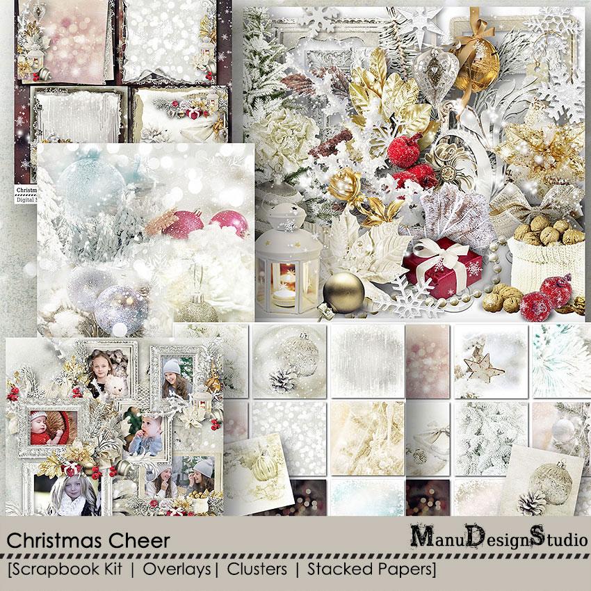 Christmas Cheer - A Digital Scrapbook Christmas Collection