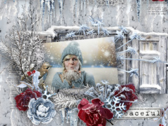Mini O's - Winter Magic - WInter Scrapbook Collection