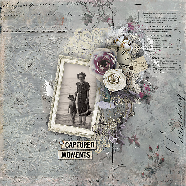 scrapbook layout from Marijke