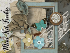 remnants of the past vintage digital scrapbook bundle