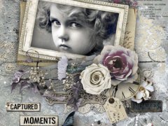 Vintage Elegance Scrapbook Collection
