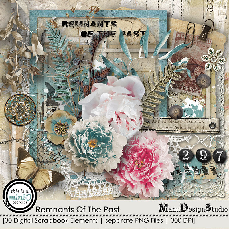 Remnants Of The Past - Vintage Scrapbook Graphics