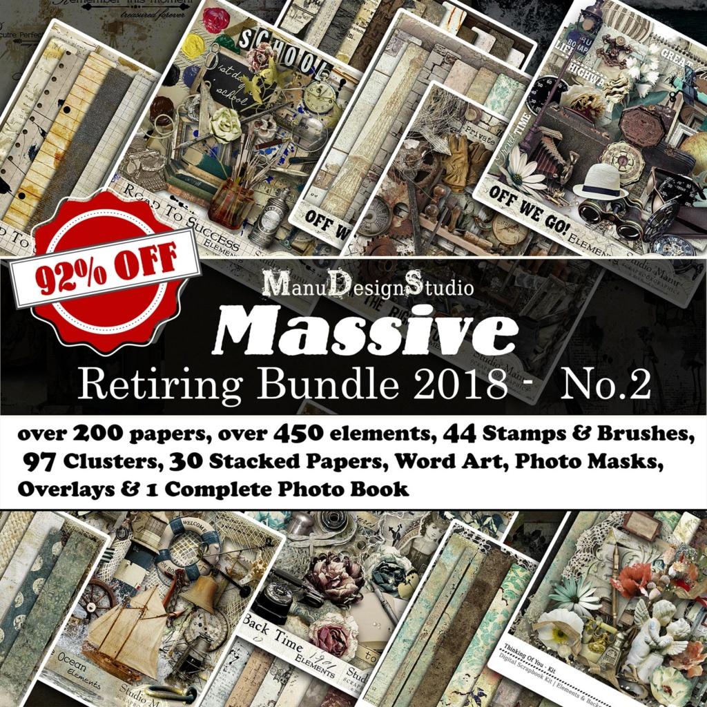 Massive Graphics Scrapbook Retiring Bundle