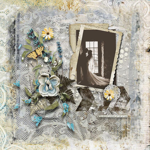 Scrapbook Inspiration Layout from antonia